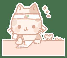 Calico cat Shiratama chan sticker #13029913