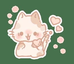 Calico cat Shiratama chan sticker #13029917