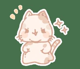 Calico cat Shiratama chan sticker #13029918