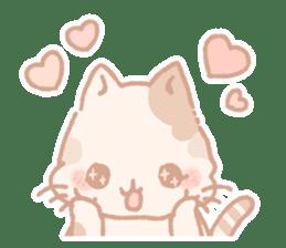 Calico cat Shiratama chan sticker #13029921