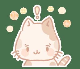 Calico cat Shiratama chan sticker #13029923