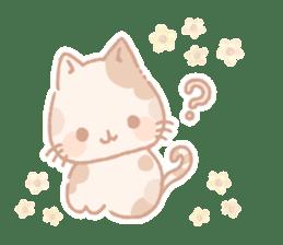 Calico cat Shiratama chan sticker #13029924