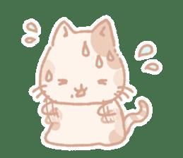 Calico cat Shiratama chan sticker #13029927
