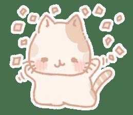 Calico cat Shiratama chan sticker #13029928