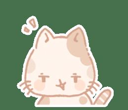 Calico cat Shiratama chan sticker #13029932