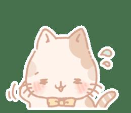 Calico cat Shiratama chan sticker #13029933