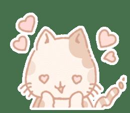 Calico cat Shiratama chan sticker #13029936