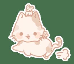 Calico cat Shiratama chan sticker #13029937