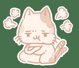 Calico cat Shiratama chan sticker #13029938