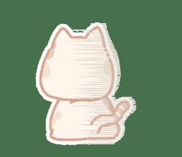 Calico cat Shiratama chan sticker #13029939