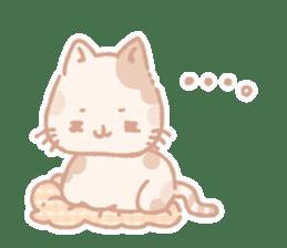 Calico cat Shiratama chan sticker #13029940