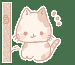Calico cat Shiratama chan sticker #13029941