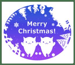 slime-cat Sticker[HW,Xmas,newyear] sticker #13044619