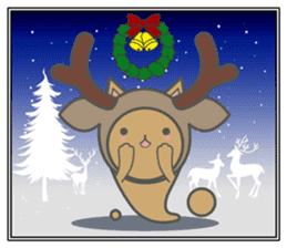 slime-cat Sticker[HW,Xmas,newyear] sticker #13044622