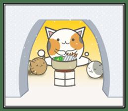 slime-cat Sticker[HW,Xmas,newyear] sticker #13044628