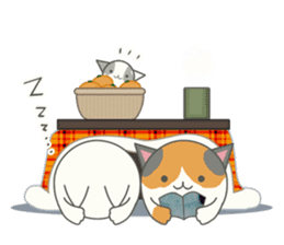 slime-cat Sticker[HW,Xmas,newyear] sticker #13044632