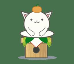 slime-cat Sticker[HW,Xmas,newyear] sticker #13044637