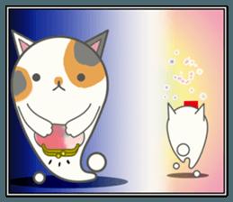 slime-cat Sticker[HW,Xmas,newyear] sticker #13044641
