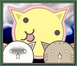 slime-cat Sticker[HW,Xmas,newyear] sticker #13044642