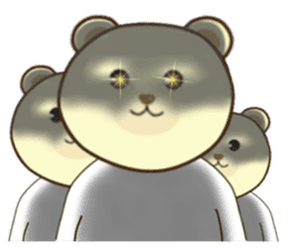 I am bear1 sticker #13044805