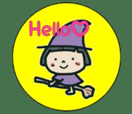 """natu""&""piyo"" Halloween version sticker #13048254"