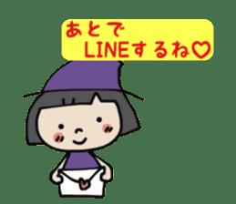 """natu""&""piyo"" Halloween version sticker #13048259"