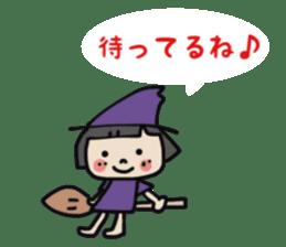 """natu""&""piyo"" Halloween version sticker #13048261"