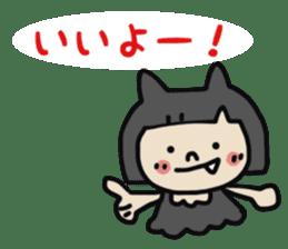 """natu""&""piyo"" Halloween version sticker #13048263"