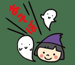 """natu""&""piyo"" Halloween version sticker #13048266"