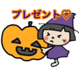 """natu""&""piyo"" Halloween version sticker #13048269"