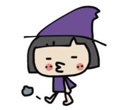 """natu""&""piyo"" Halloween version sticker #13048270"
