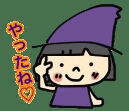 """natu""&""piyo"" Halloween version sticker #13048272"