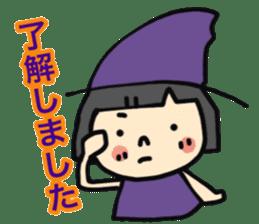"""natu""&""piyo"" Halloween version sticker #13048279"