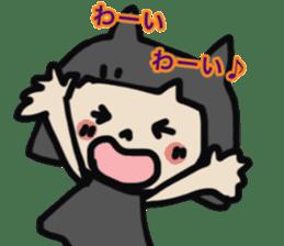 """natu""&""piyo"" Halloween version sticker #13048293"
