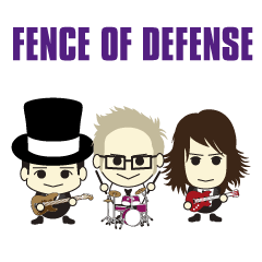 FENCE OF DEFENSE yurukawa stickers