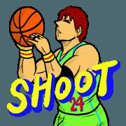 สติ๊กเกอร์ไลน์ Dunk shoot 3