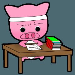 Cute Porky Pig