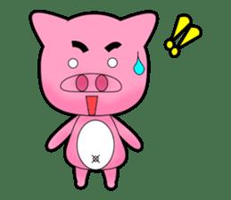 Cute Porky Pig sticker #13050759