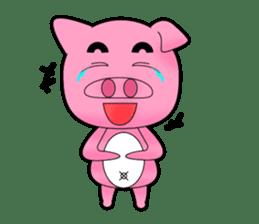 Cute Porky Pig sticker #13050766