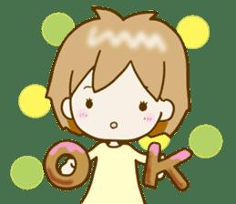 Spoiled Risu-chan4 sticker #13057274