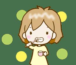 Spoiled Risu-chan4 sticker #13057280