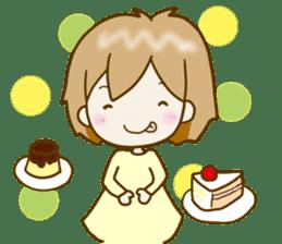 Spoiled Risu-chan4 sticker #13057281