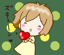 Spoiled Risu-chan4 sticker #13057285