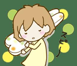 Spoiled Risu-chan4 sticker #13057289