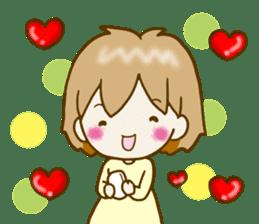Spoiled Risu-chan4 sticker #13057292