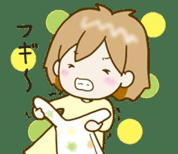 Spoiled Risu-chan4 sticker #13057297