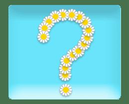Animated flowers sticker #13060208