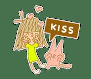Emily Emoji sticker #13063692