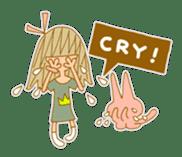 Emily Emoji sticker #13063695