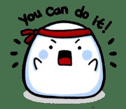 Just a Snowball sticker #13067985